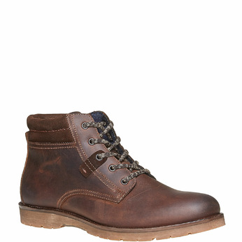 Chaussure en cuir pour homme bata, Brun, 894-4281 - 13
