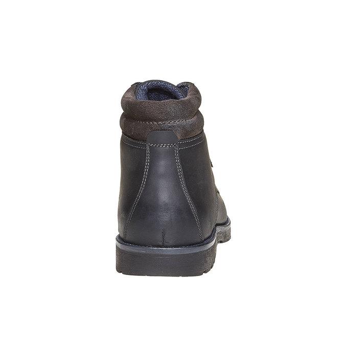 Chaussure montante pour homme bata, Noir, 894-6281 - 17