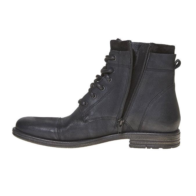 Chaussure en cuir pour homme bata, Noir, 894-6284 - 18
