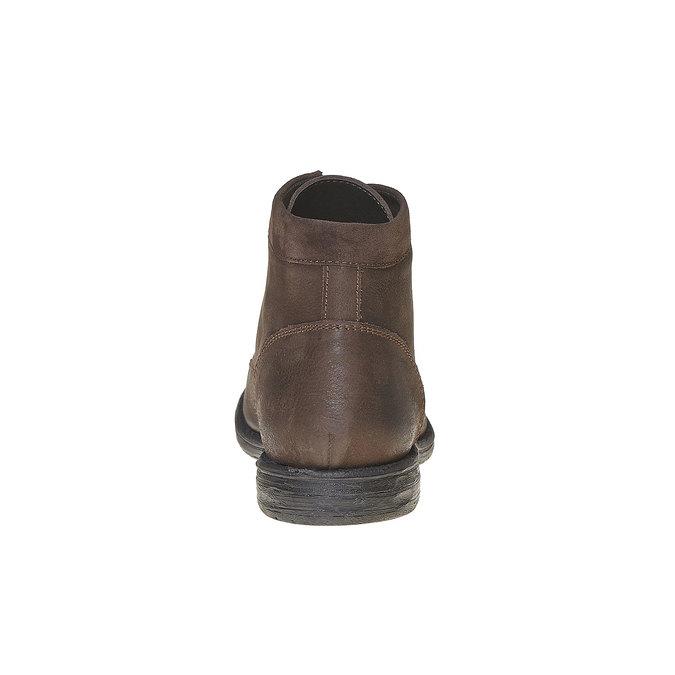 Chaussure montante en cuir pour homme bata, Brun, 896-4704 - 17