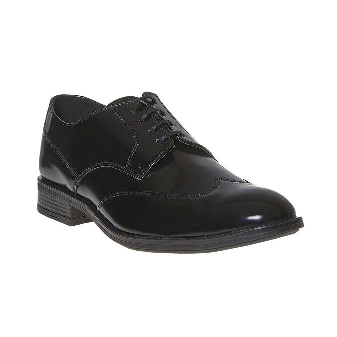 Chaussure lacée Derby homme bata, Noir, 821-6430 - 13