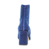 Bottine en velours bata, Bleu, 799-9643 - 17