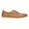 Chaussure lacée décontractée en cuir flexible, Brun, 524-3565 - 15