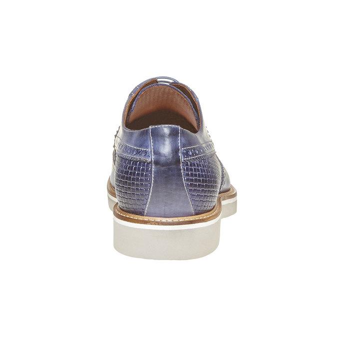 Chaussure lacée en cuir pour homme bata-the-shoemaker, Violet, 824-9302 - 17