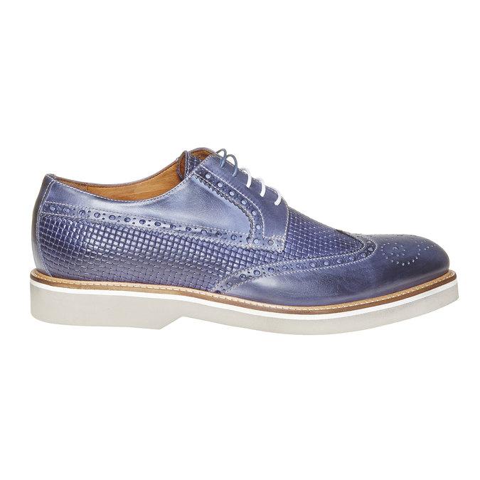 Chaussure lacée en cuir pour homme bata-the-shoemaker, Violet, 824-9302 - 15