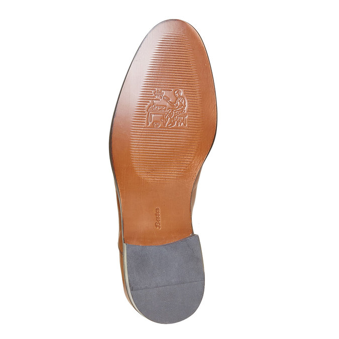 Derby en cuir bata-the-shoemaker, Brun, 824-3296 - 26