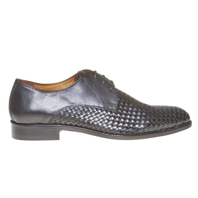 Derby homme en cuir bata-the-shoemaker, Noir, 824-6295 - 15