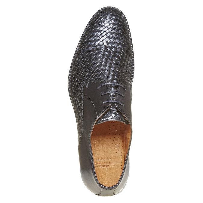 Derby homme en cuir bata-the-shoemaker, Noir, 824-6295 - 19