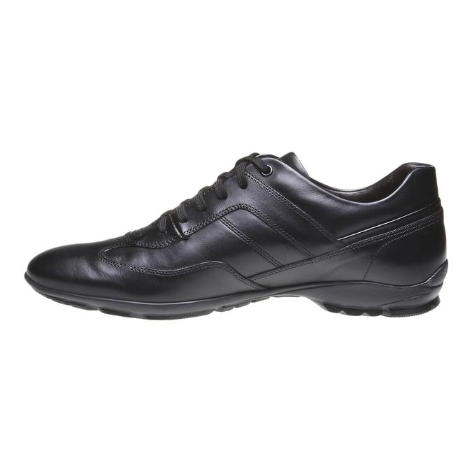 Chaussure de ville à lacet bata, Noir, 824-6988 - 15