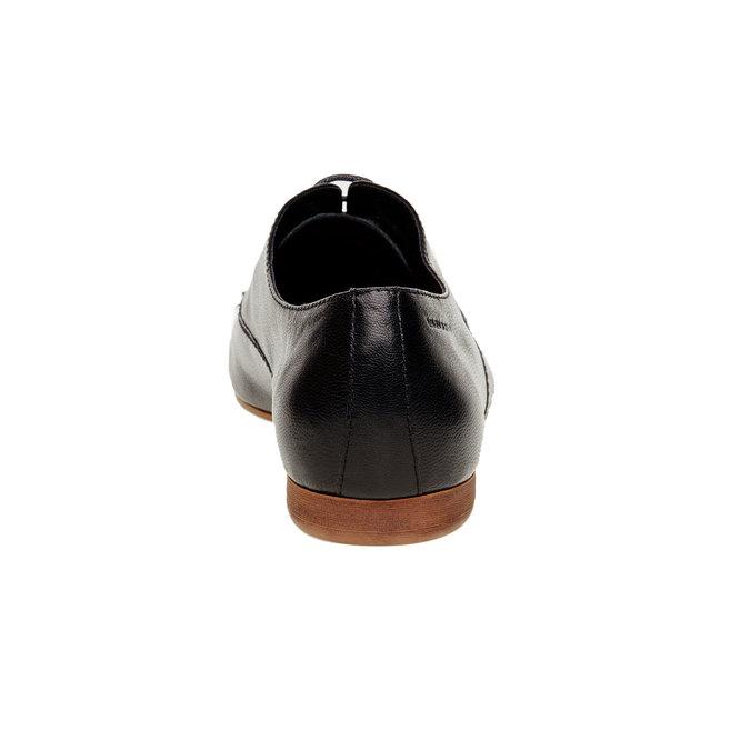 Chaussure lacée en cuir pour femme vagabond, Noir, 524-6013 - 17