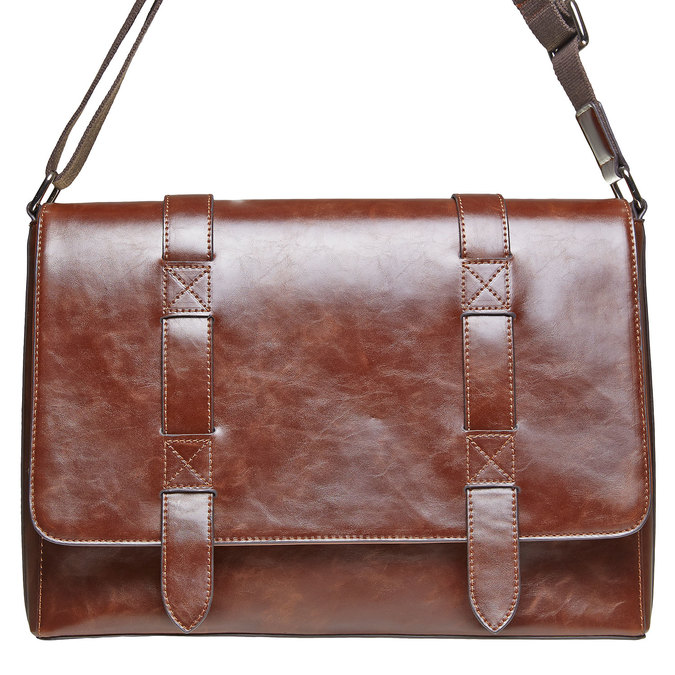 Cartable homme bata, Brun, 961-4770 - 17