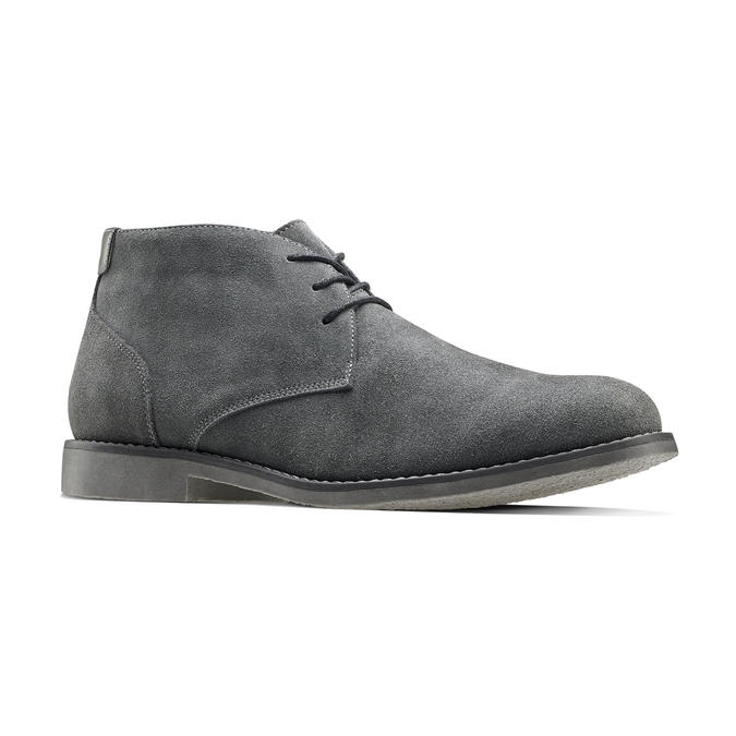 Chaussures Homme bata, Gris, 843-2380 - 13
