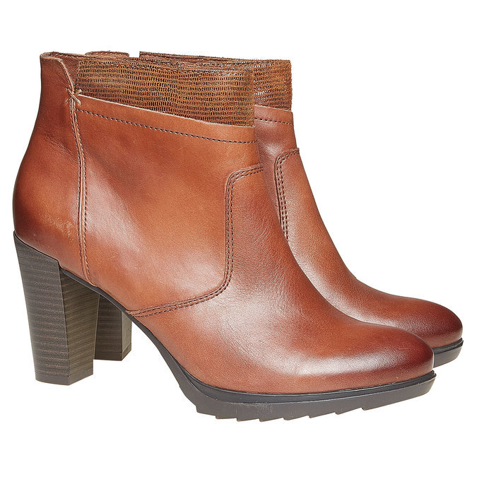 Chaussures Femme insolia, Brun, 794-3353 - 26