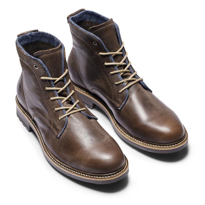 Chaussures Homme bata, Brun, 894-4522 - 19