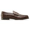 Loafer en cuir homme bata, Brun, 814-4128 - 26