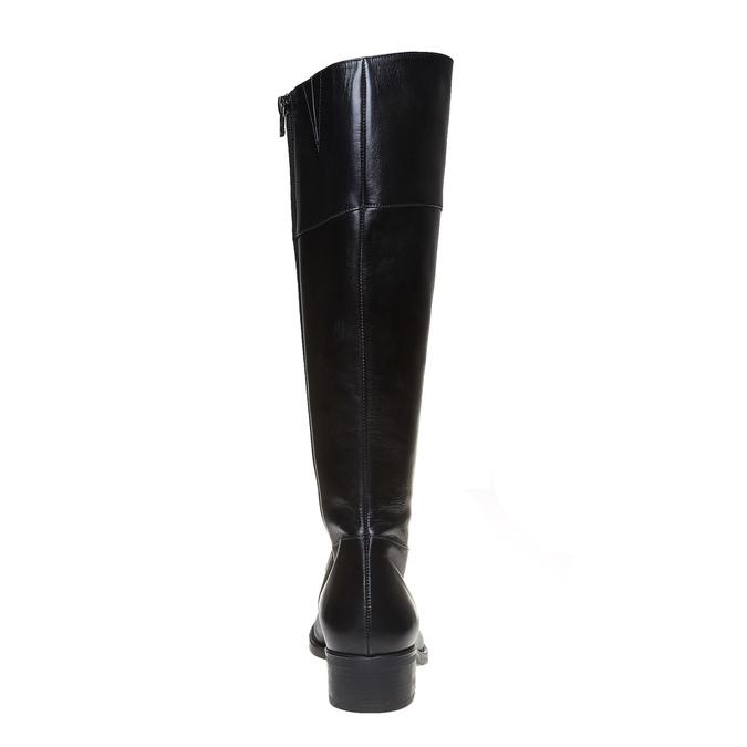 Botte en cuir bata, Noir, 594-6223 - 17