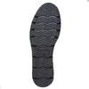 Mocassin en cuir à plateforme pour femme bata, Noir, 514-6256 - 26