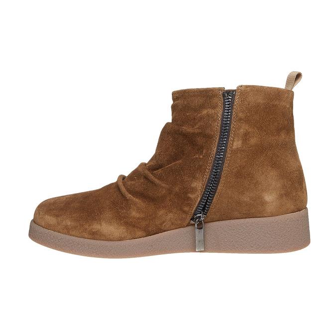 Chaussures Femme flexible, Brun, 593-3577 - 19