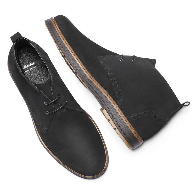 Chaussures Homme bata, Violet, 823-9535 - 19