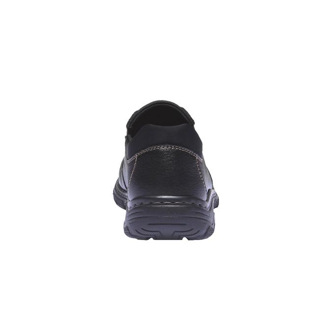 Chaussures à enfiler homme rieker, Noir, 814-6121 - 17
