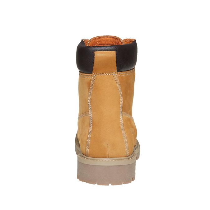 Chaussures en cuir à semelle tracteur weinbrenner, Brun, 896-8820 - 17