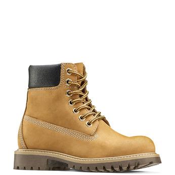 Chaussure pour enfant à semelle marquée weinbrenner-junior, Jaune, 396-8182 - 13