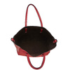 Sac à main avec perforations bata, Rouge, 961-5276 - 17