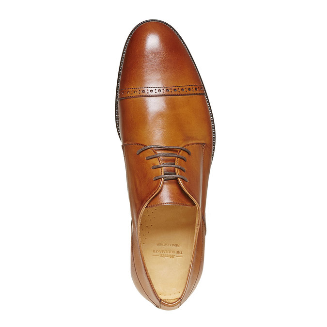 Derby en cuir bata-the-shoemaker, Brun, 824-3296 - 19