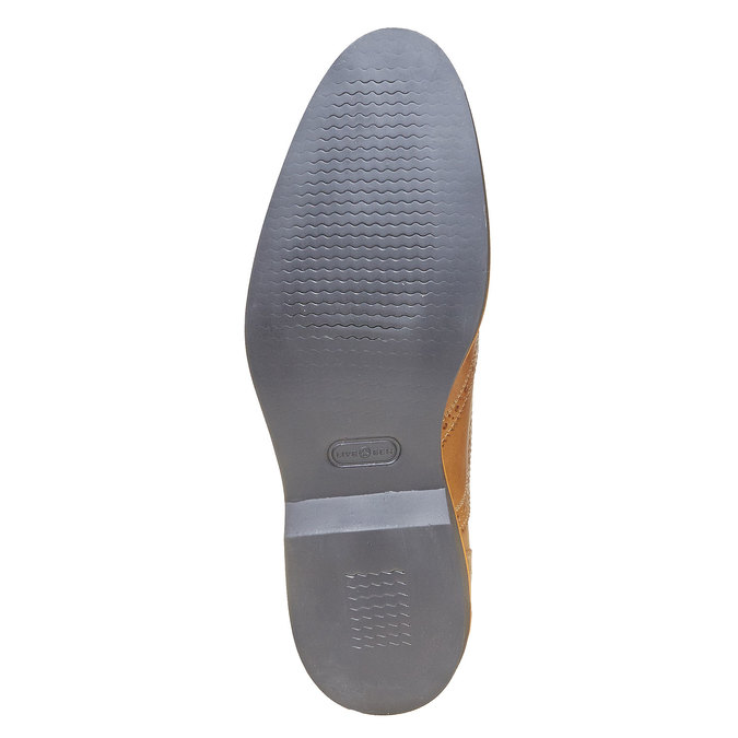 Chaussure Oxford marron bata-the-shoemaker, Jaune, 824-8776 - 26