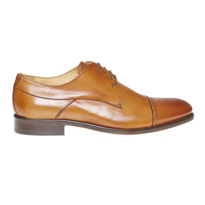 Derby en cuir bata-the-shoemaker, Brun, 824-3296 - 15