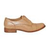 Chaussure en cuir sans lacet bata, Brun, 514-3267 - 15