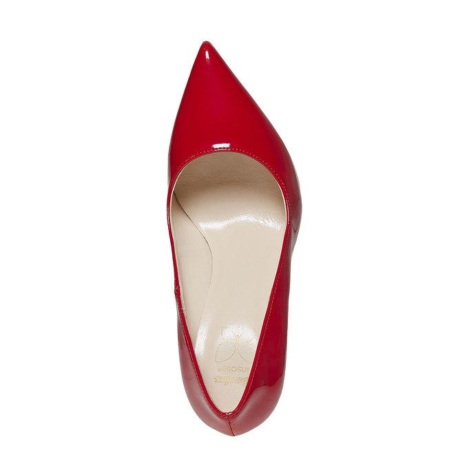 Escarpin verni femme insolia, Rouge, 721-5867 - 19