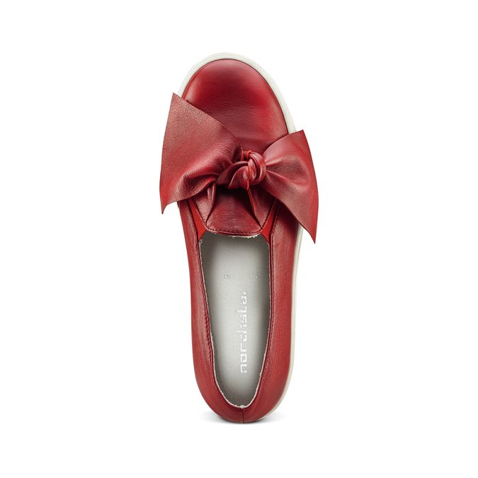 Slip-on rouge femme north-star, Rouge, 514-5264 - 15