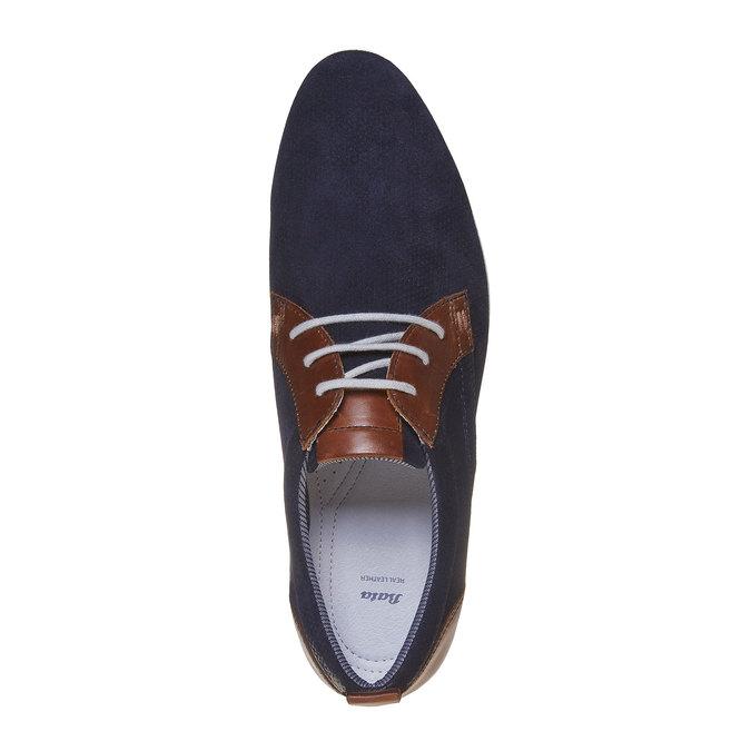 Chaussure en cuir homme bata, Violet, 823-9234 - 19