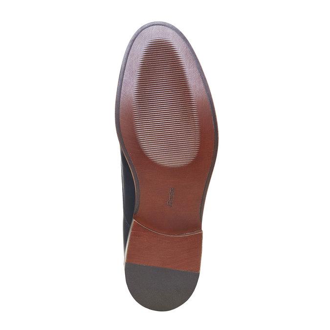 Chaussure homme en cuir bata, Violet, 824-9289 - 26