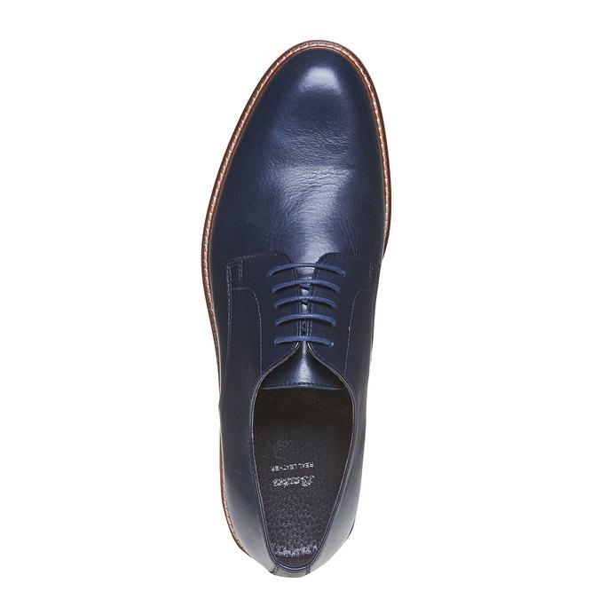 Chaussure homme en cuir bata, Violet, 824-9289 - 19