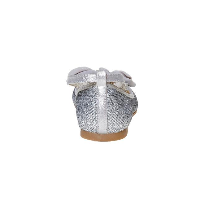 Ballerine argentée à nœud mini-b, Gris, 329-2241 - 17