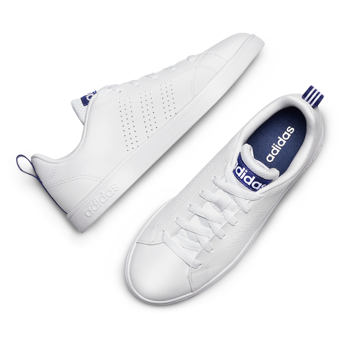 Basket blanche perforée femme adidas, Blanc, 501-1200 - 26
