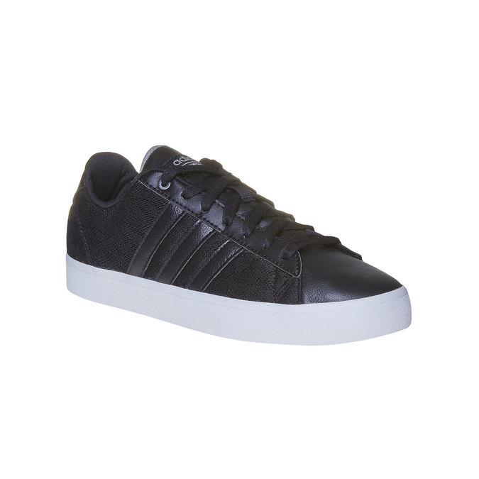 Tennis noire pour femme avec dentelle adidas, Noir, 509-6195 - 13