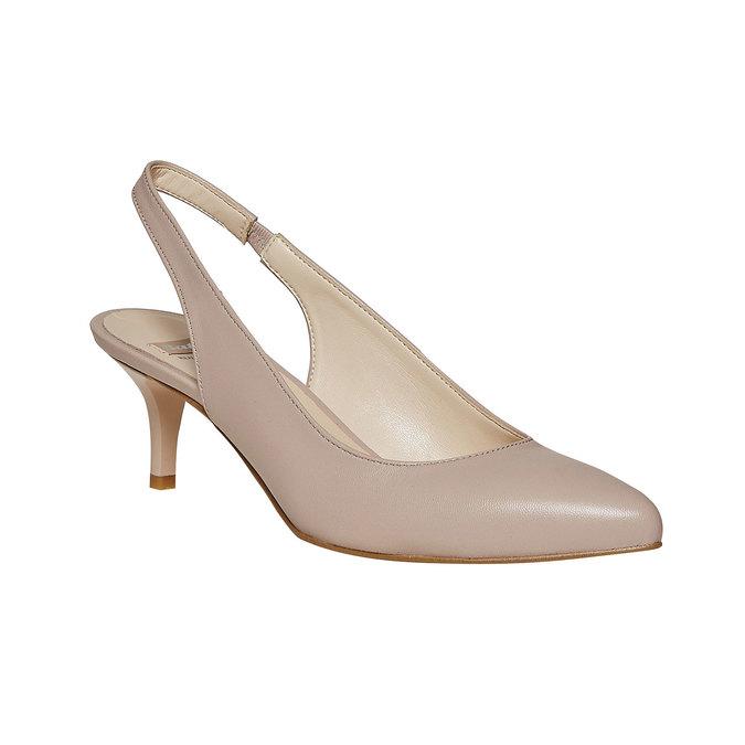 BATA Chaussures Femme bata, Jaune, 724-8677 - 13