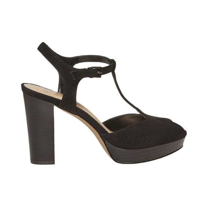 Sandale à talon femme insolia, Noir, 769-6737 - 15