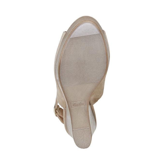 Sandale femme à plateforme épaisse insolia, Gris, 769-2501 - 26