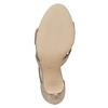 Sandale dorée femme insolia, Jaune, 761-8399 - 26