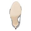 Sandale femme à talon aiguille insolia, Gris, 761-2399 - 26
