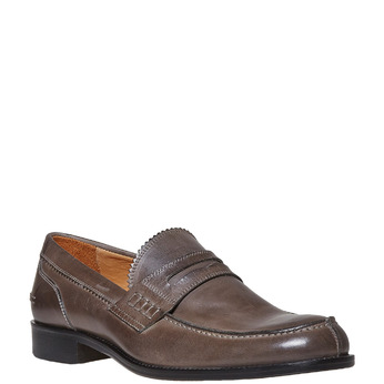 Penny Loafer en cuir bata-the-shoemaker, 814-2160 - 13
