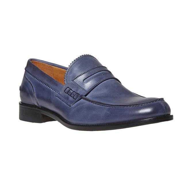 Penny Loafer en cuir bata-the-shoemaker, Violet, 814-9160 - 13