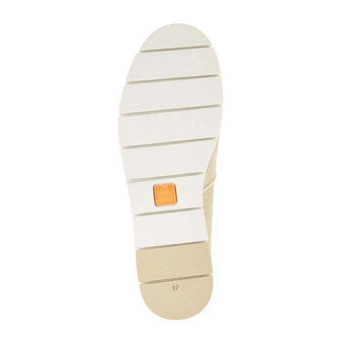 Slip on en cuir perforé flexible, Jaune, 513-8200 - 26