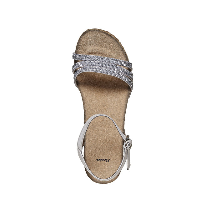Chaussures Femme bata, Gris, 661-2213 - 19