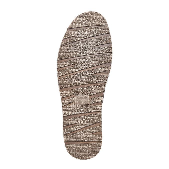 Slip-on en cuir pour homme bata, Brun, 853-4241 - 26