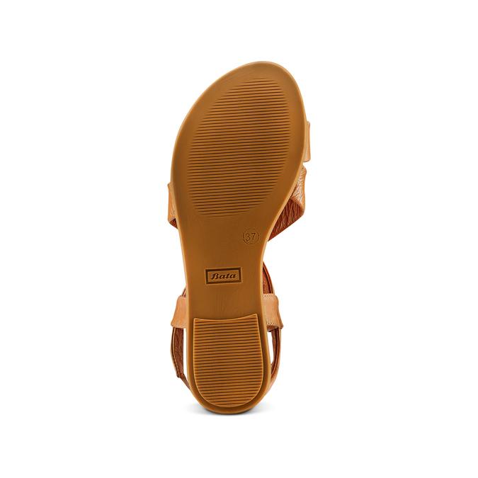 Sandale en cuir pour femme bata, Brun, 564-3443 - 19
